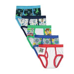 Disney Toy Story Boys 5 Pack Brief Size 6
